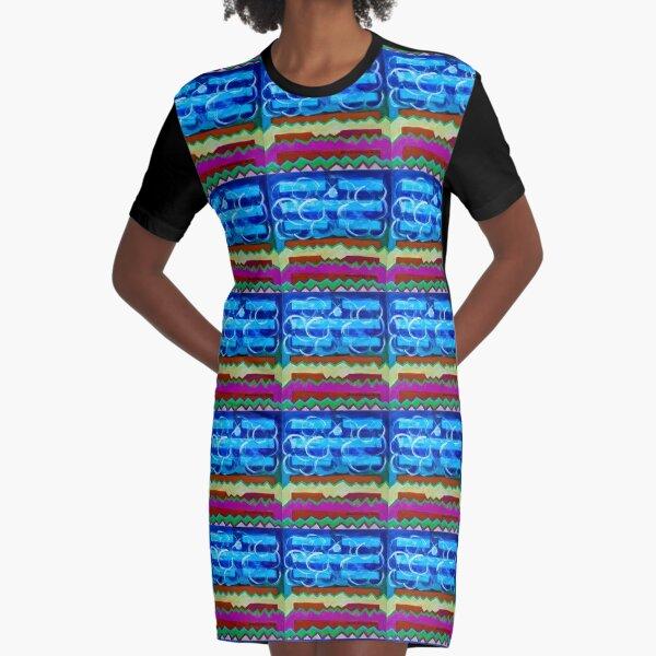 Hexagram 63: Jí Jì (Equilibrium) Graphic T-Shirt Dress