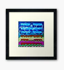 Hexagram 63: Jí Jì (Equilibrium) Framed Print