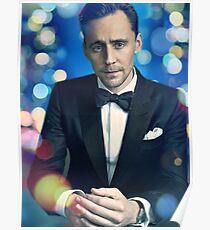 Tom Hiddleston photo edit Poster