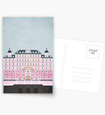 Grand Budapest Hotel  Postcards