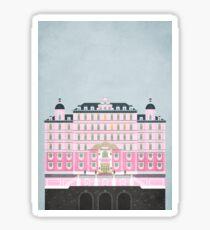Grand Budapest Hotel  Sticker