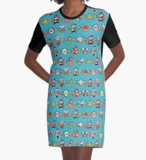 Super Mario 3 T-Shirt Kleid