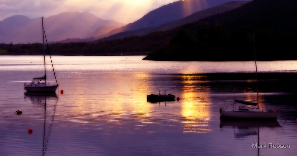 Loch Leven by Mark Robson