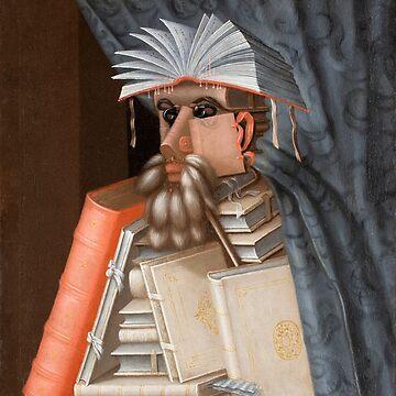 The Librarian - Giuseppe Arcimboldo by maryedenoa