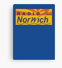 Radio Norwich Canvas Print