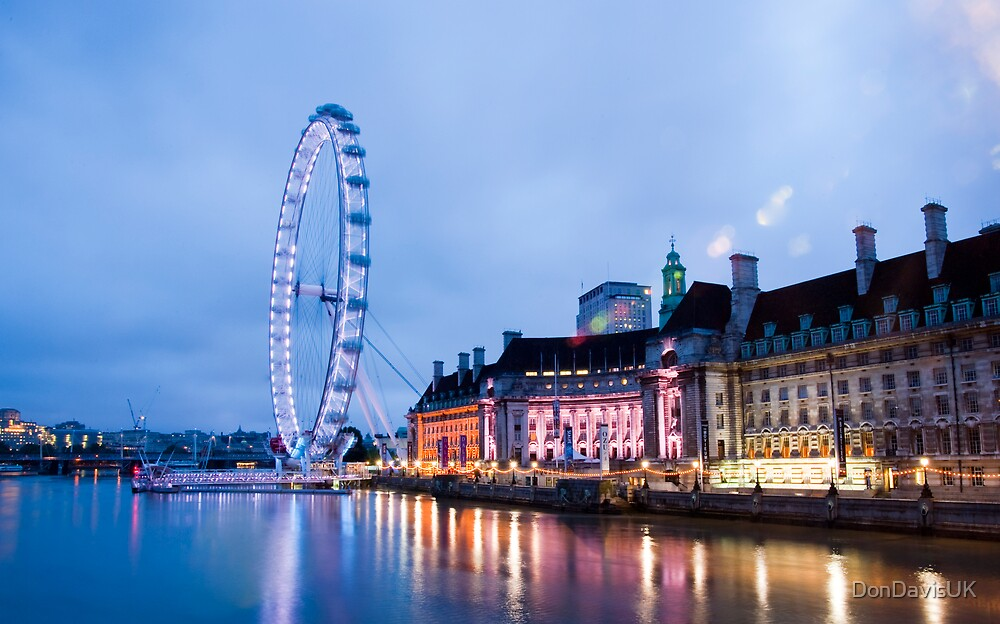 in the twinkling of an eye london eye by dondavisuk redbubble