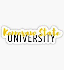 Kennesaw State University Sticker