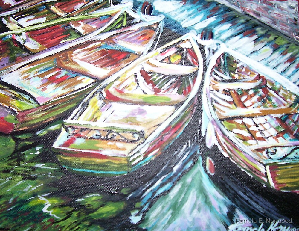 Boats by Pamela E. Norwood
