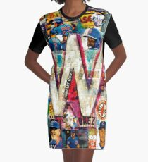 Fly the W Graphic T-Shirt Dress