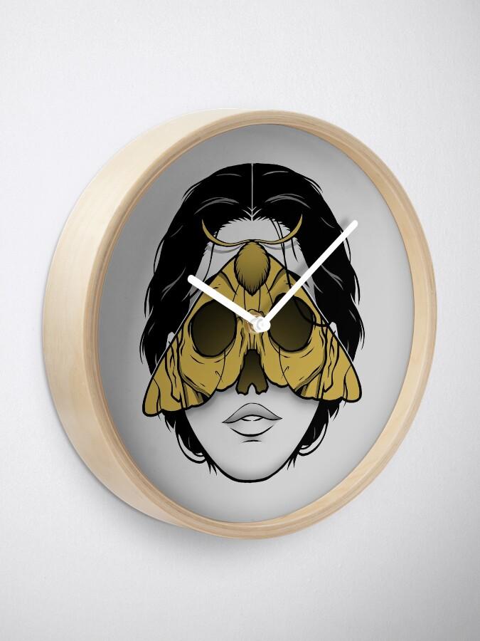 Alternate view of Bad Omen Clock