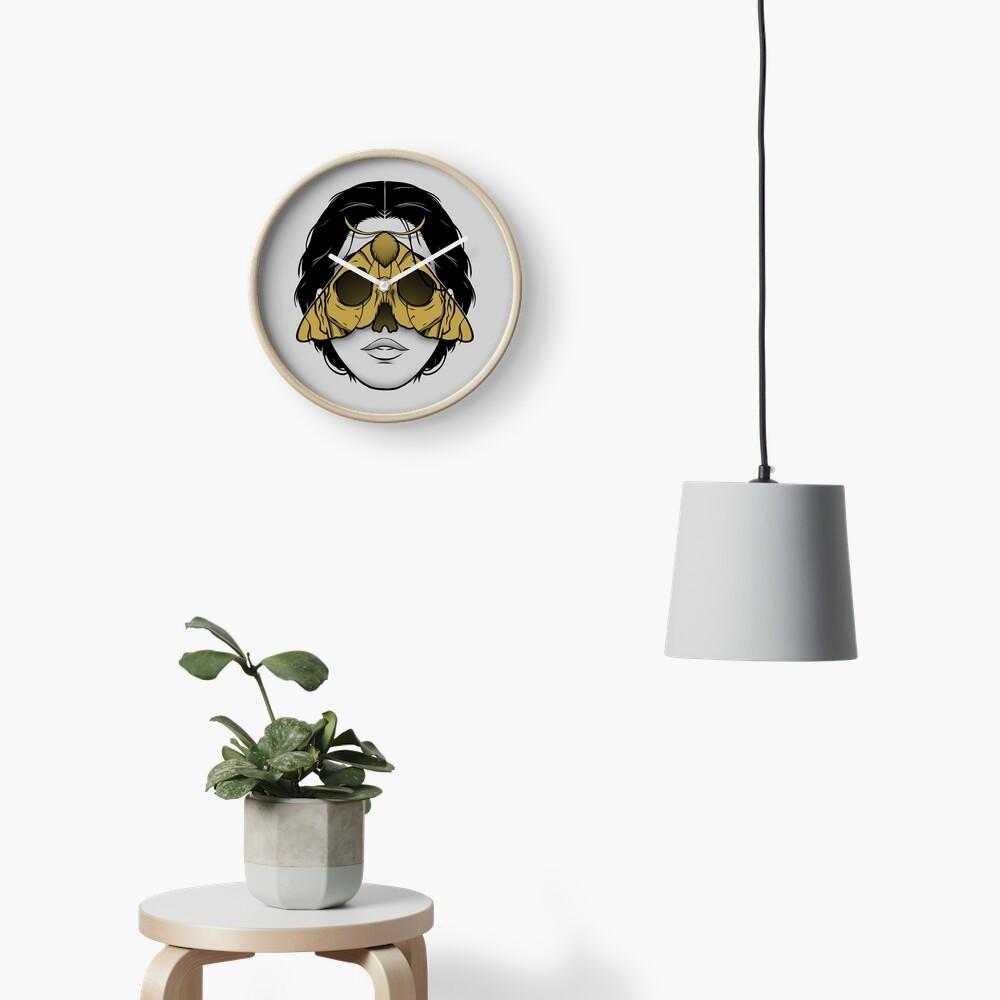 Bad Omen Clock