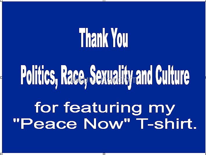 Thank you Politics, Race, Sexuality and Culture by www dotcom