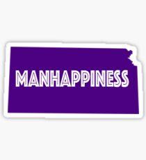 Manhappiness Sticker