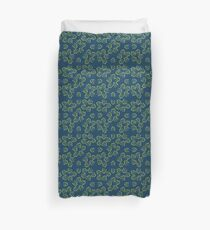 Pattern with Ginkgo biloba Duvet Cover