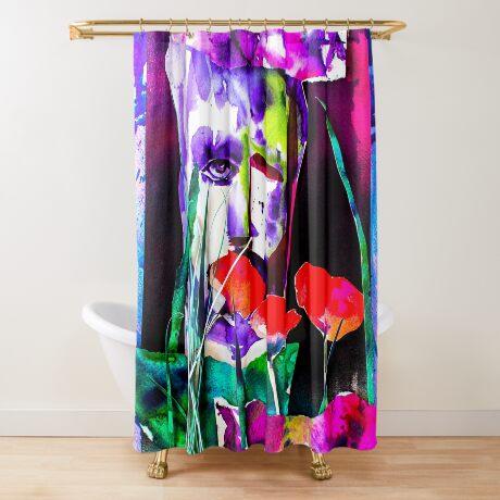 BAANTAL / Pollinate / Evolution #7 Shower Curtain