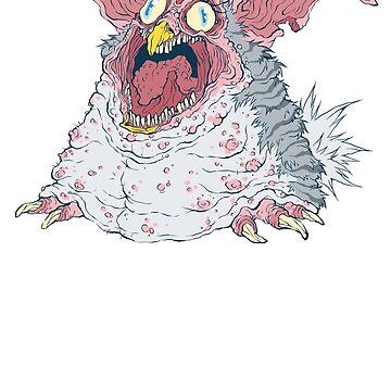 Creepy Furby by FaceRot