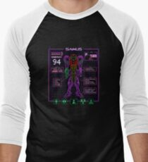 Sammy Stats Men's Baseball ¾ T-Shirt