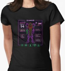 Sammy Stats Women's Fitted T-Shirt
