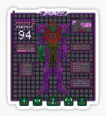 Sammy Stats Sticker
