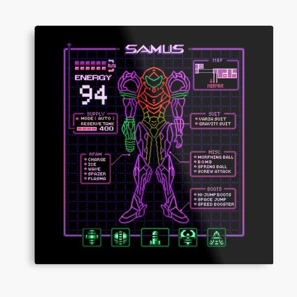 Sammy Stats Metal Print