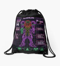 Sammy Stats Drawstring Bag