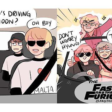 BTS: DRIVING NAMJOON by randomsplashes