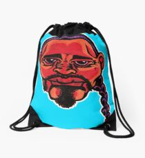 Gustavo - Die Cut Version Drawstring Bag