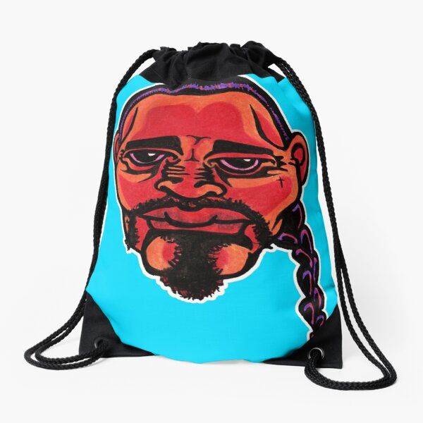 Gustavo - Die Cut Version Drawstring Bag