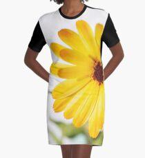 Golden Girl Graphic T-Shirt Dress