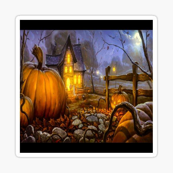 fwc 1577 Holiday Halloween Sticker