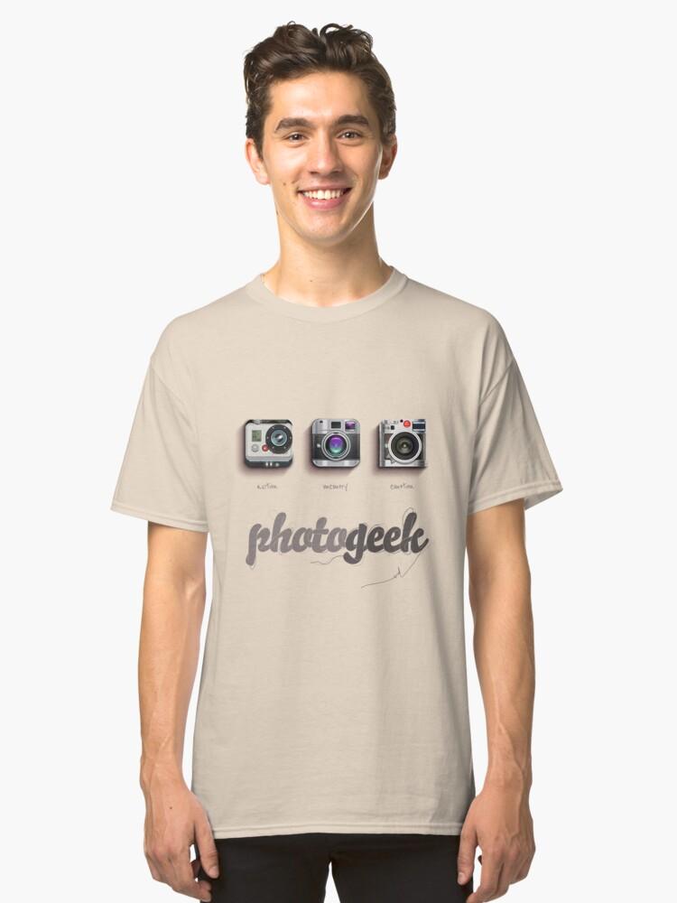 Photogeek Classic T-Shirt Front