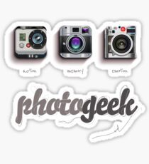 Photogeek Sticker