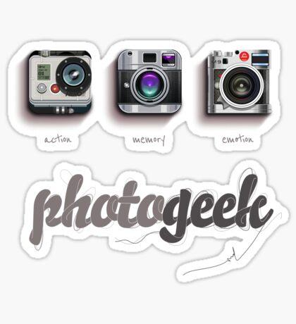 Photogeek Sticker