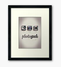Photogeek Framed Print