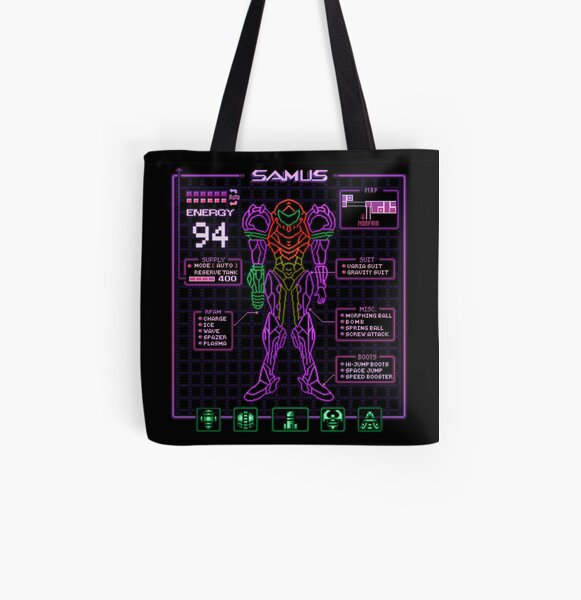 Sammy Stats All Over Print Tote Bag