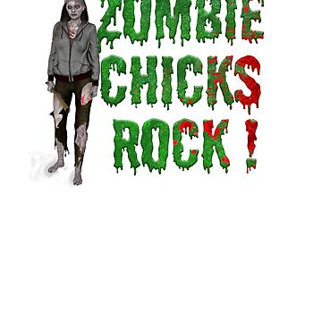 Zombie Chicks Rock! by Jey-Blue