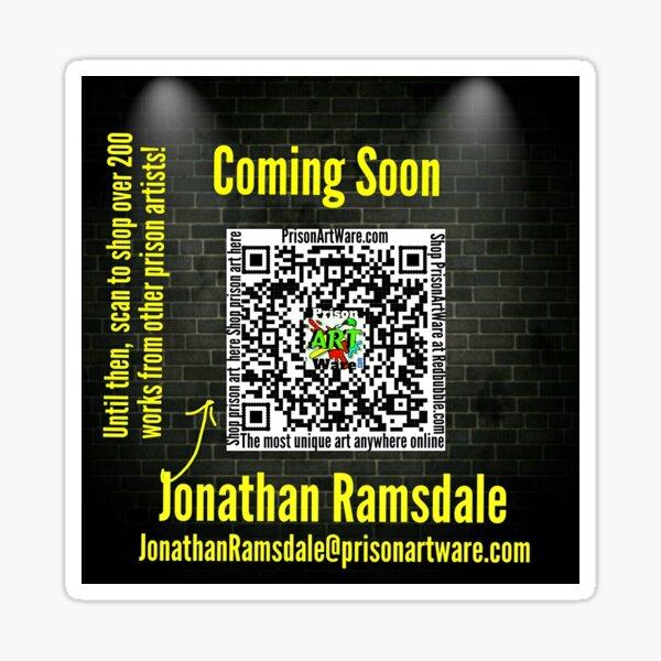 PrisonArtWare.com is proud to introduce Jonathan Ramsdale  Sticker