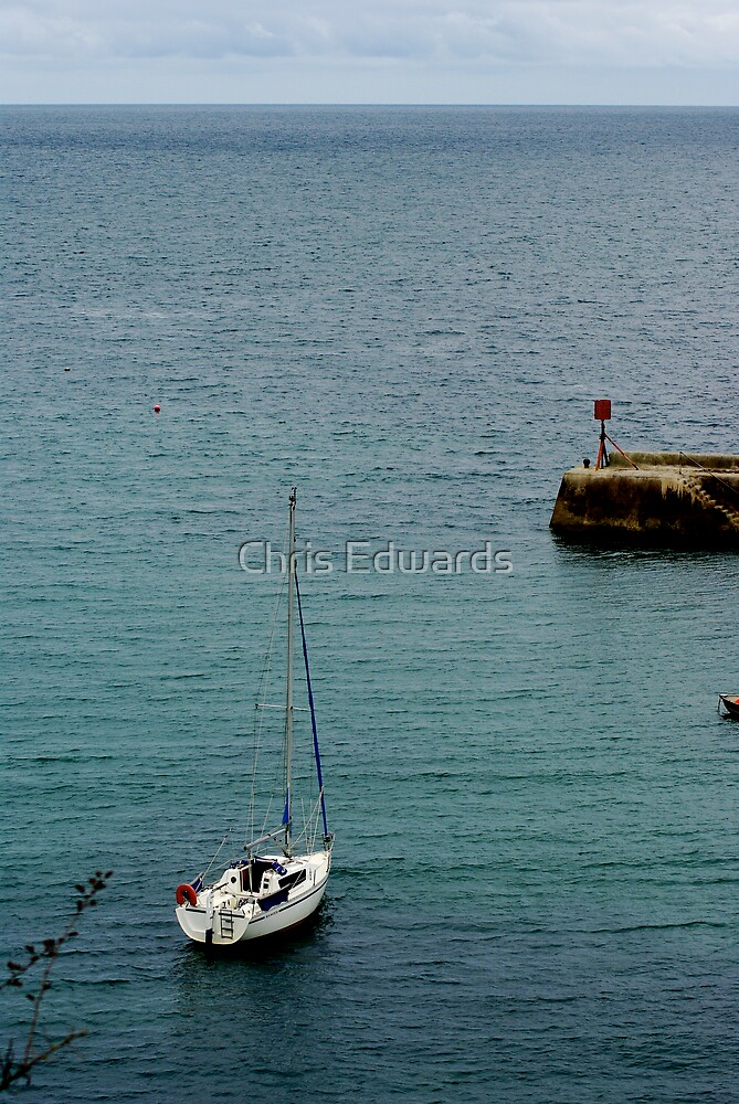Port Isaac Harbour by Chris Edwards