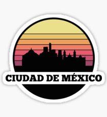 Cuidad de México skyline Sticker
