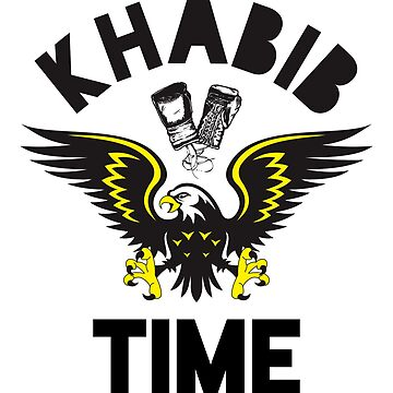 Khabib Time T Shirt Khabib The Eagle Mma Tee Shirt by vicekingwear