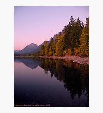 Lake MacDonald - Glacier National Park Photographic Print
