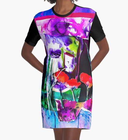 BAANTAL / Pollinate / Evolution #7 Graphic T-Shirt Dress