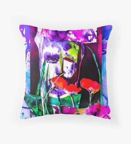 BAANTAL / Pollinate / Evolution #7 Throw Pillow