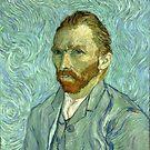 Self-Portrait - Vincent Van Gogh by maryedenoa