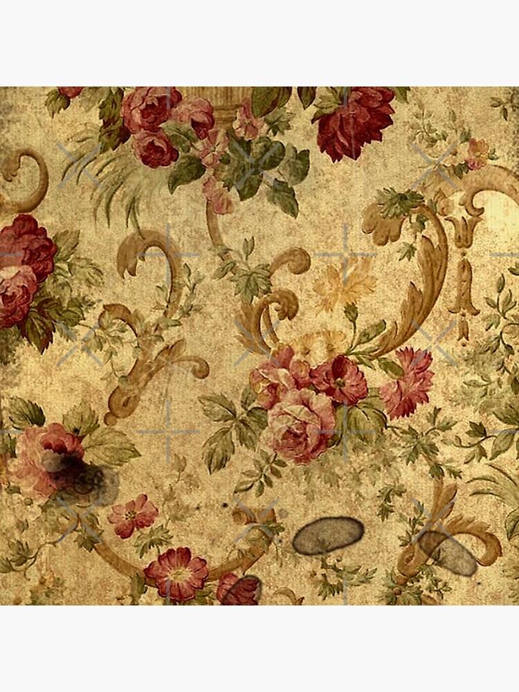Vintage,tapestry,floral,elegant,victorian,rustic,grunge,elegant,chic by love999