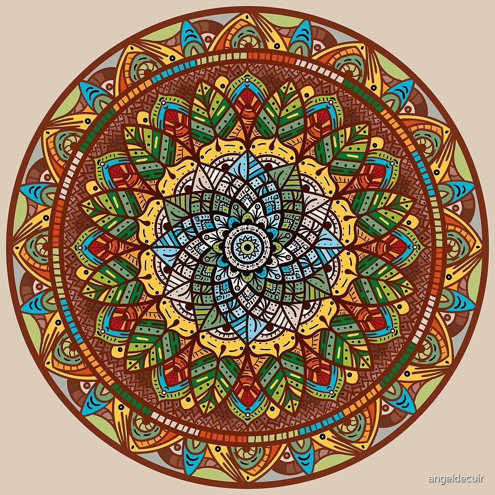 Leafy Meditation by angeldecuir