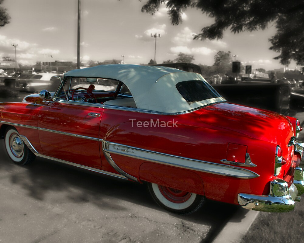 1953 Chevrolet Bel Air Convertible by TeeMack