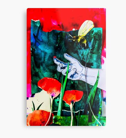 BAANTAL / Pollinate / Evolution #8 Metal Print