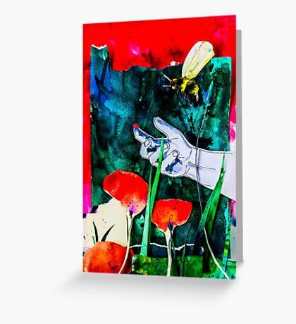 BAANTAL / Pollinate / Evolution #8 Greeting Card