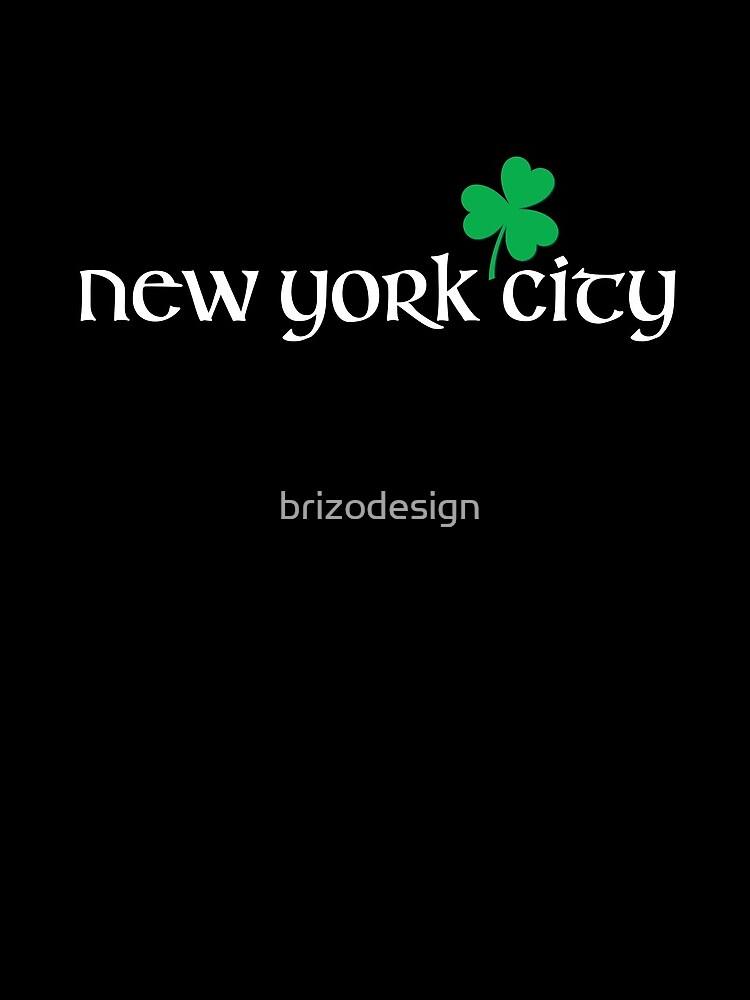Día de San Patricio City Pride - CIUDAD DE NUEVA YORK de brizodesign